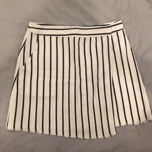 Urban Outfitters Vertical Striped Wrap Skirt